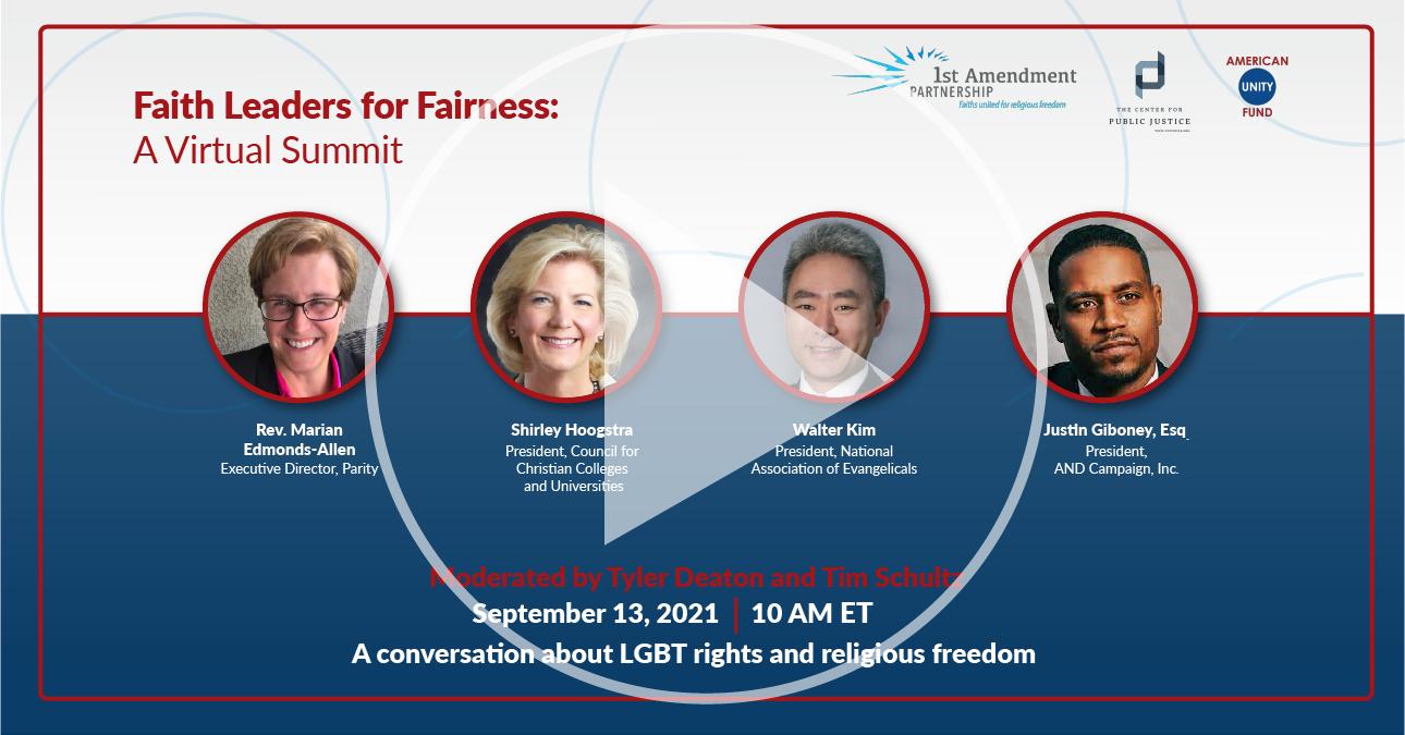 Faith Leaders for Fairness: A Virtual Summit 2
